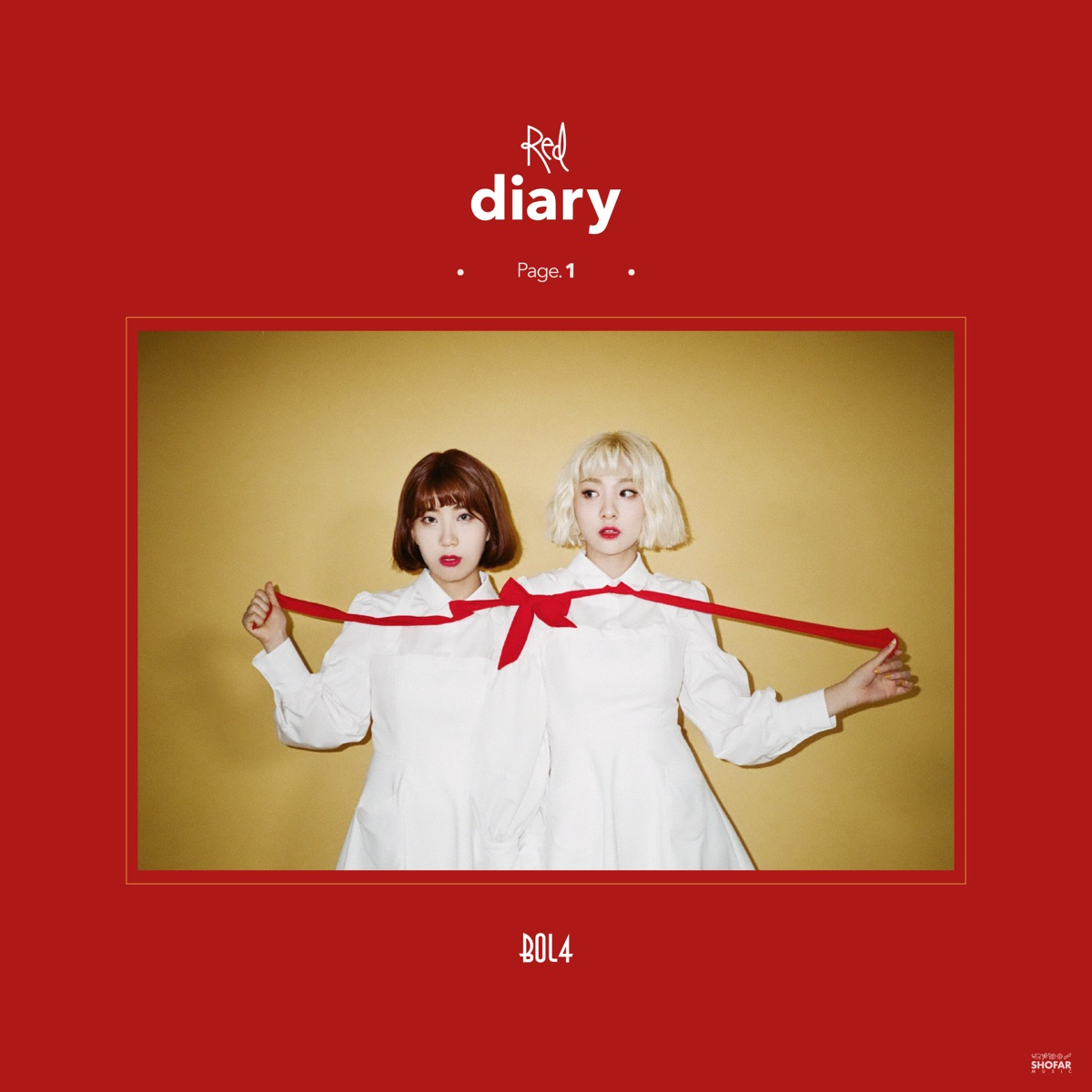 1st Mini Album「Red Diary Page.1」